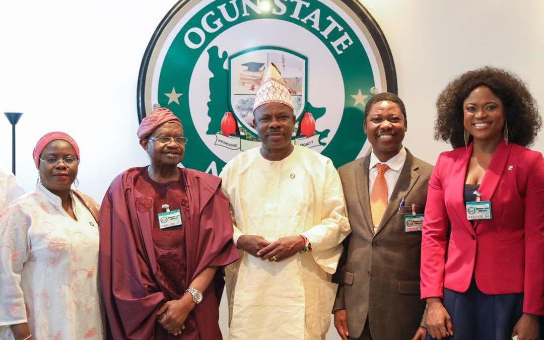 Trade Visit to Ogun State Governor, His Excellency, Ibikunle Amosun