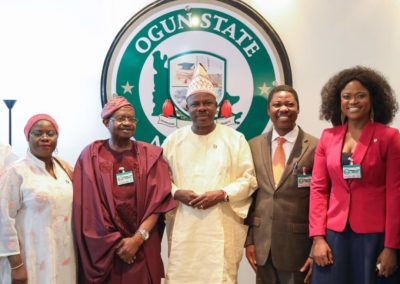 Trade Visit to Ogun State Governor, His Excellency, Ibikunle Amosun
