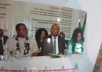 Consultation meeting with the Niger Delta Development Commission of Nigeria in company of Senator Donzella James, Georgia, Atlanta, USA